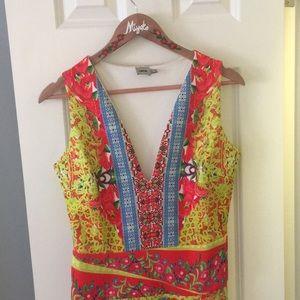 Bright cheery ASOS dress